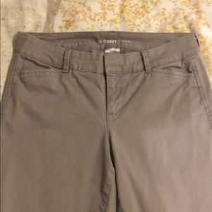 Old Navy Pixie Pants Light Gray
